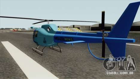 Weazel News Maverick (GTA V) para GTA San Andreas