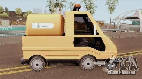 Sweeper Romania Bucuresti para GTA San Andreas