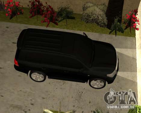 Toyota Land Cruiser 200 2008 para GTA San Andreas