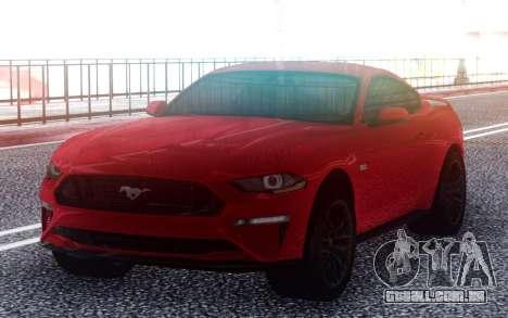 Ford Mustang GT 2019 para GTA San Andreas