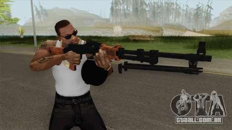 COD-MWR RPD para GTA San Andreas