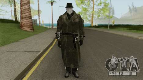 Mr X From RE2 Remake (With Normal Map) para GTA San Andreas
