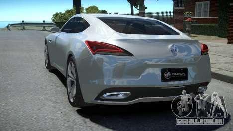 Buick Avista Concept 2016 HQ para GTA 4