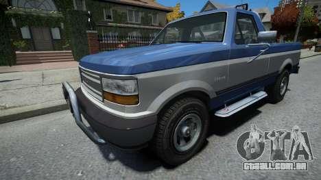 Vapid Sadler Sport Retro Single Cab para GTA 4