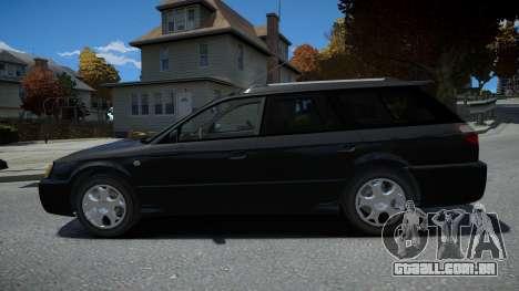 Subaru Legasy Wagon 2000 para GTA 4