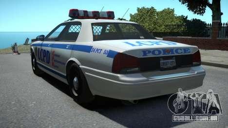 Vapid Police Cruiser para GTA 4