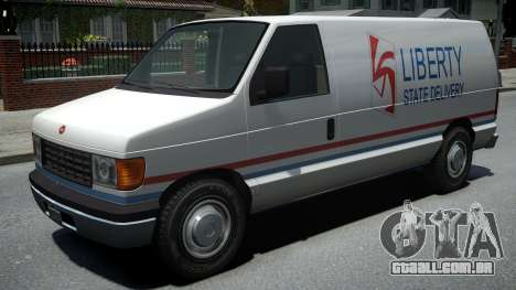 Vapid Steed 1500 Cargo Van para GTA 4