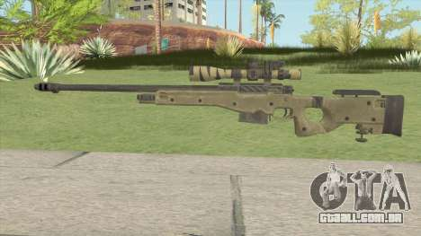 COD: Ghosts L115 Sniper para GTA San Andreas