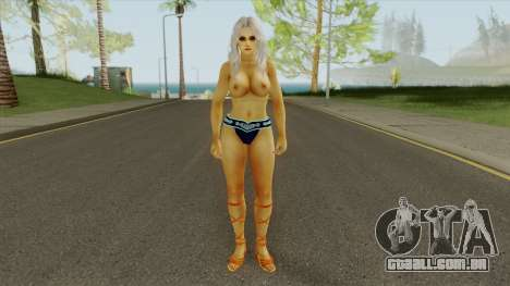 Nyo Topless Ho Slut Coochie With a Tan para GTA San Andreas