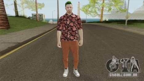 GTA Online Skin 2 para GTA San Andreas
