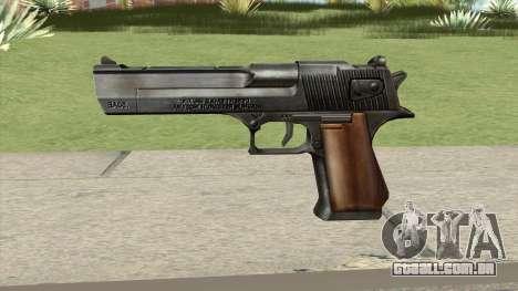 Desert Eagle Black GTA IV para GTA San Andreas