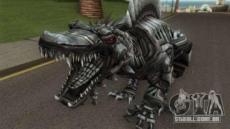 Transformers Scorn AOE V2 para GTA San Andreas