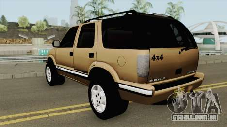 Chevrolet Blazer 99 para GTA San Andreas