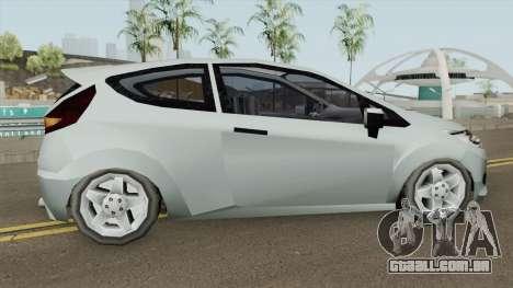 Ford Fiesta 2010 (SA Style) para GTA San Andreas