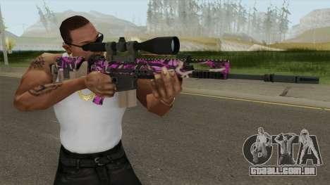 CS-GO SCAR-20 (Blaze Pink Skin) para GTA San Andreas
