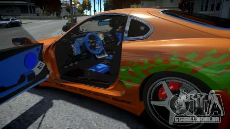 Toyota Supra Fast and the Furious para GTA 4