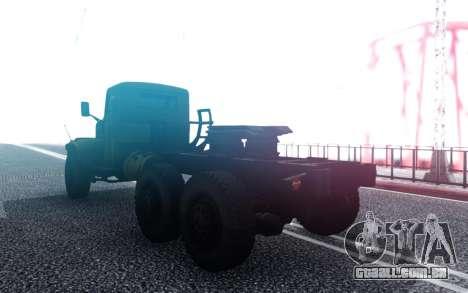 KrAZ 255 para GTA San Andreas