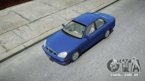Daewoo Nubira II Sedan 2000 para GTA 4