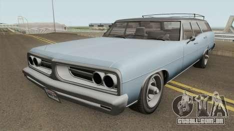 Dundrealy Regina GTA IV TLAD para GTA San Andreas