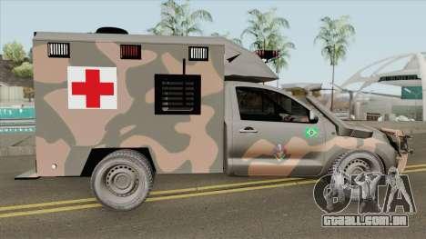 Toyota Hilux 2015 Ambulance para GTA San Andreas