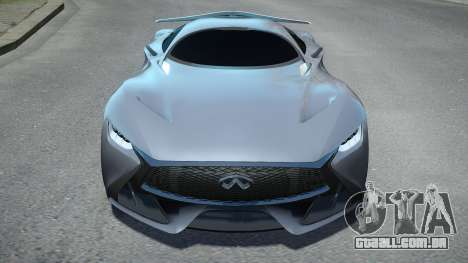 Infiniti Vision Gran Turismo 2014 para GTA 4