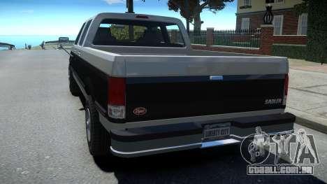 Vapid Sadler Sport Retro Crew Cab para GTA 4