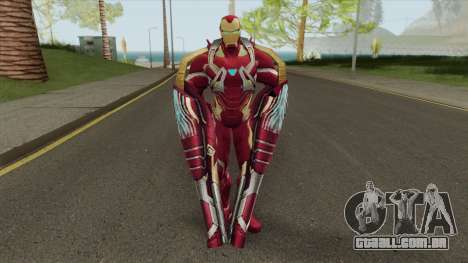 Iron Man Mark W Skin para GTA San Andreas