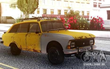 IZH-2125 Tuning para GTA San Andreas