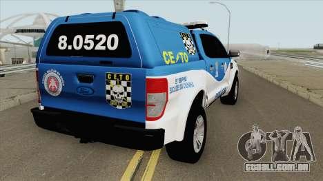 Ford Ranger 2017 CETO para GTA San Andreas