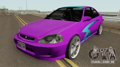 Honda Civic SA Style (Fix) para GTA San Andreas