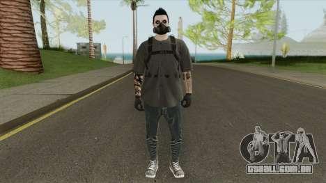 Male Random Skin From GTA V Online para GTA San Andreas
