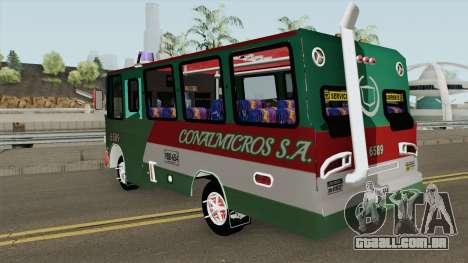De Busetas Colombiana V1 para GTA San Andreas