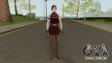 Ada RE2 Remake (Classic Outfit) Meshmod para GTA San Andreas