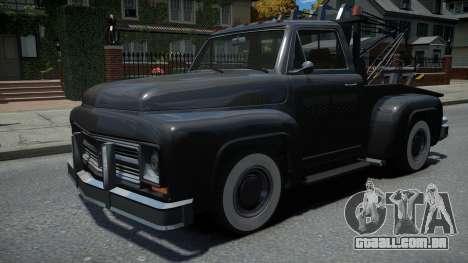 TLAD Towtruck Restored para GTA 4