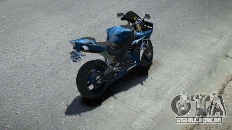 Yamaha R1 para GTA 4