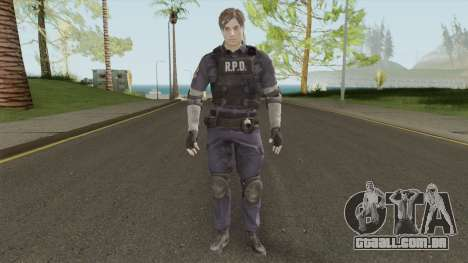 Leon Scott Kennedy From RE 2 Remake para GTA San Andreas