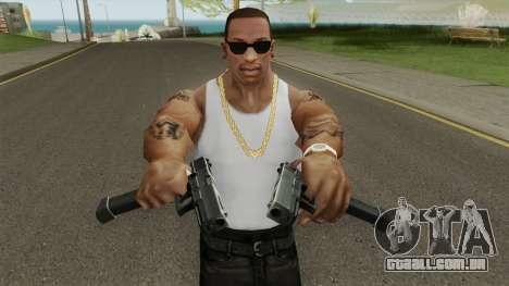Contract Wars Glock 18 Extended para GTA San Andreas