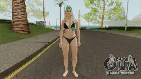 Beach Girl GTA V para GTA San Andreas