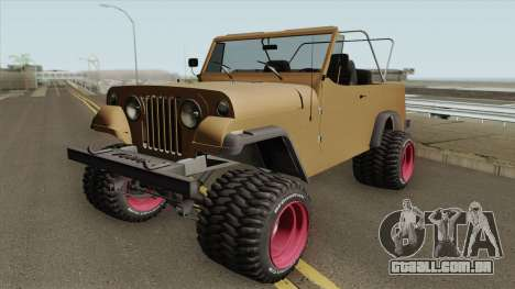 Jeep Commando 1969 para GTA San Andreas