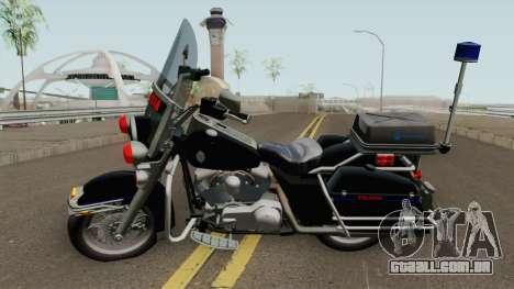 Harley Davidson PE (ExBr) para GTA San Andreas