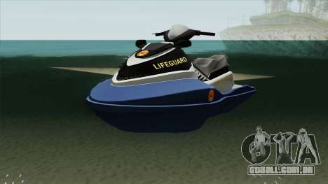 Seashark Lifeguard para GTA San Andreas