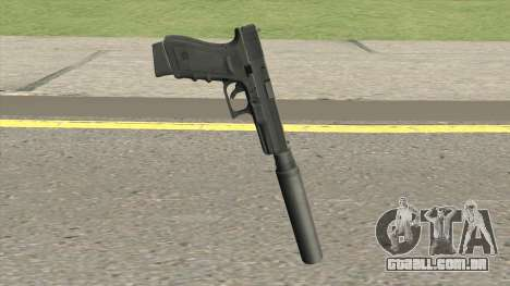 Contract Wars Glock 18 Suppressed para GTA San Andreas