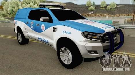 Ford Ranger 2017 CIPM para GTA San Andreas