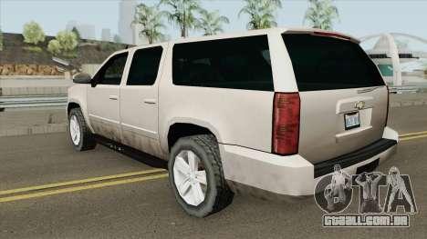 Chevrolet Suburban 2009 (SA Style) para GTA San Andreas