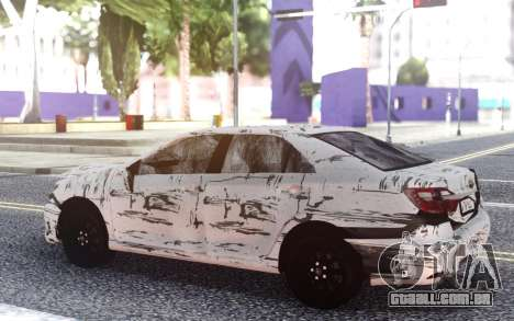 Toyota Camry 2016 Crashed para GTA San Andreas