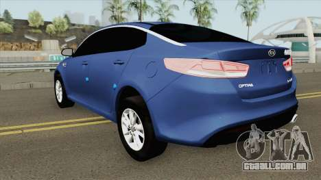 Kia Optima 2018 para GTA San Andreas