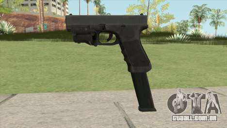 Glock 17 Laser Extendo para GTA San Andreas
