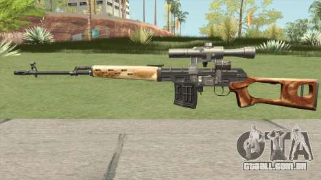 GDCW SVD Dragunov para GTA San Andreas