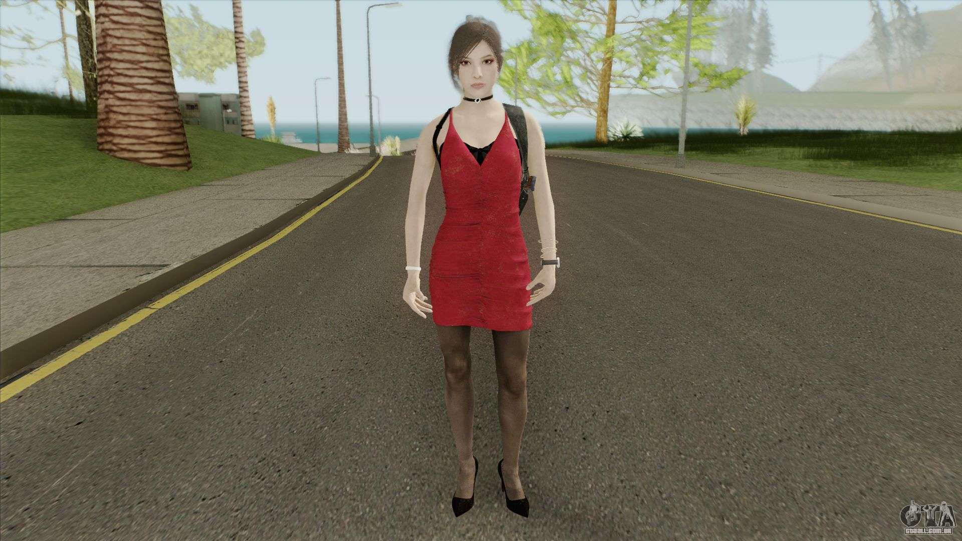 Ada Wong From RE2 Remake для GTA San Andreas