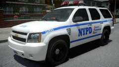 Chevrolet Tahoe NYPD Police 2015